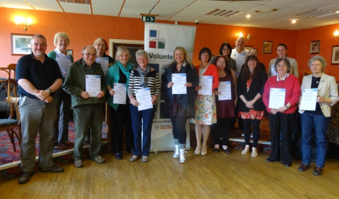 Group of attendees from 6 Steps to Successful Funding training
